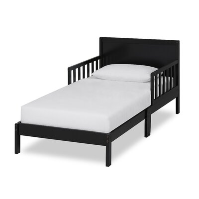 Brookside Toddler Platform Bed Bed Frame Color: Black