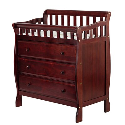 Marcus Changing Table and Dresser Color: Cherry 602-C