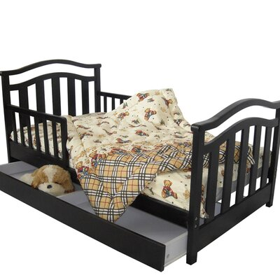 Kids   Storage on Dream On Me Elora Toddler Bed With Storage