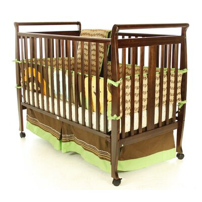 Bella Sleigh Convertible Crib Finish: Espresso 677-E