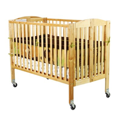 Folding Full Size Convenience Crib Finish: Natural 672-N