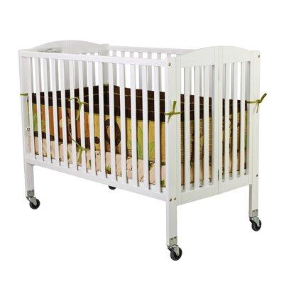 Folding Full Size Convenience Crib Finish: White 672-W