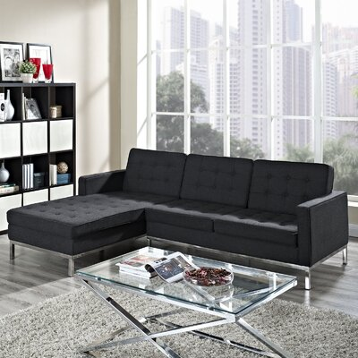 Gayatri Contemporary Sectional Orientation: Left Hand Facing