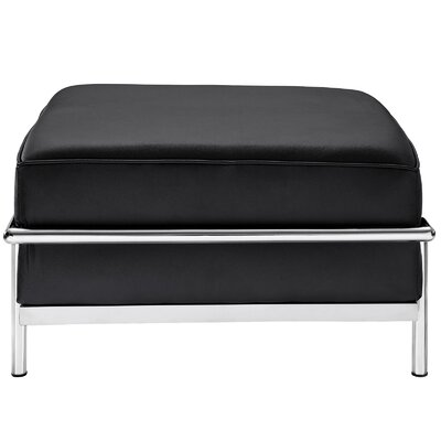 LC3 Ottoman Upholstery: Black