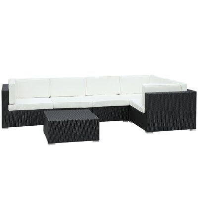 Merge Rattan Sectional Set Cushions - Product photo