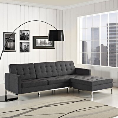 Gayatri Contemporary Sectional Orientation: Right Hand Facing