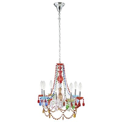 Palace 8-Light Candle-Style Chandelier