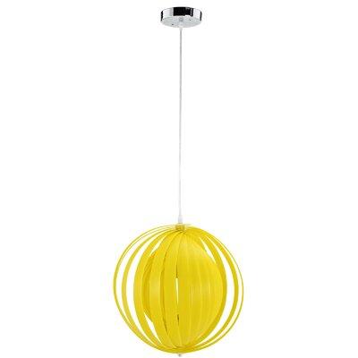 Brush 1 Light Globe Pendant