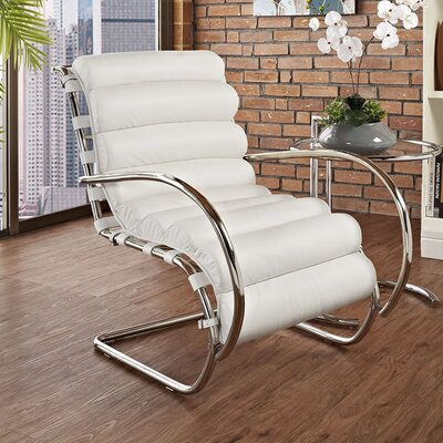 Modway Ripple Lounge Chair - Color: White