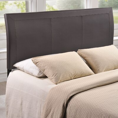 Isabella Queen Upholstered Sleigh Headboard Upholstery: Brown