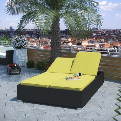 Attest Outdoor Patio Chaise - Product photo
