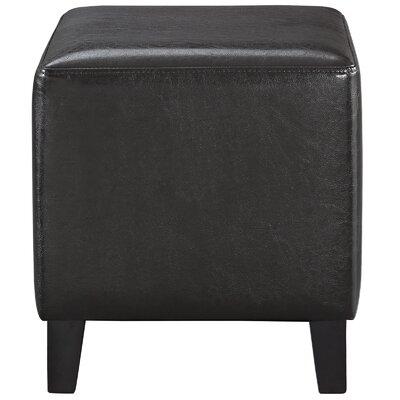 Lodge Ottoman Upholstery: Brown