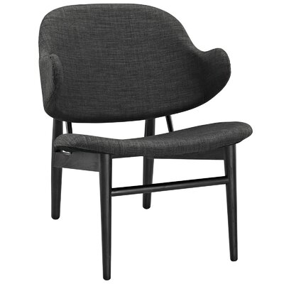 Suffuse Lounge Chair Upholstery: Black / Gray