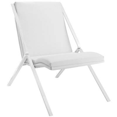 Swing Lounge Chair Upholstery: White