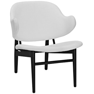 Suffuse Lounge Chair Upholstery: Black / White