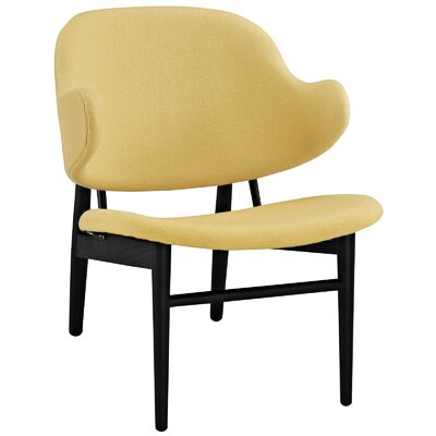 Suffuse Lounge Chair Color: Black / Yellow