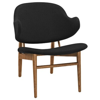 Suffuse Lounge Chair Upholstery: Maple / Black