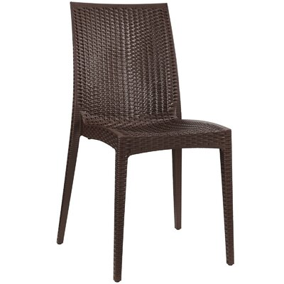 Intrepid Dining Side Chair Finish: Coffee