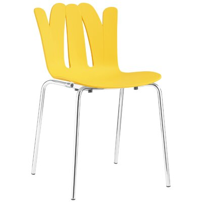 Flare Side Chair Upholstery: Yellow