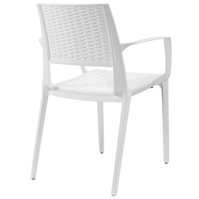 Astute Arm Chair Finish: White