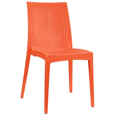 Intrepid Dining Side Chair Finish: Orange