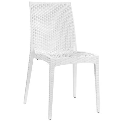 Intrepid Dining Side Chair Color: White