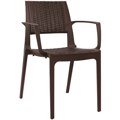 Astute Arm Chair Color: Coffee