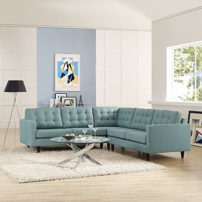 Empress Sectional Upholstery: Laguna