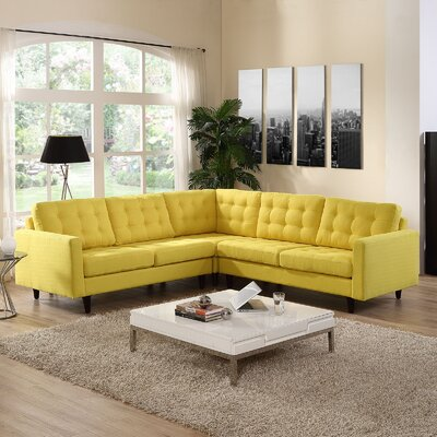 Empress Sectional Upholstery: Sunny