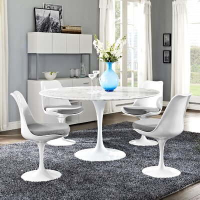 Julien Contemporary Round Dining Table