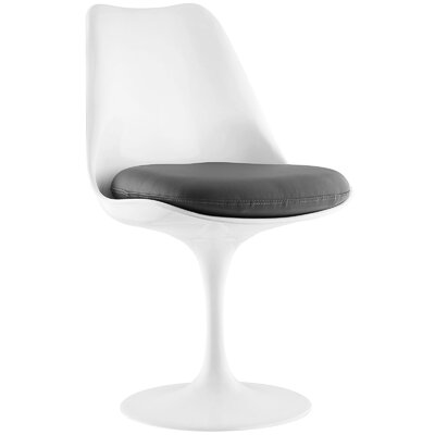 Lippa Side Chair Upholstery: Grey