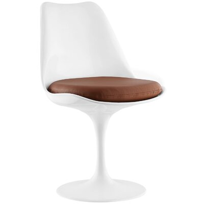 Lippa Side Chair Upholstery: Tan