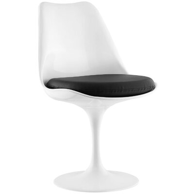 Lippa Side Chair Upholstery: Black