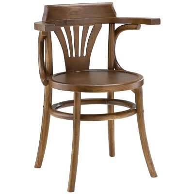 Stretch Solid Wood Dining Chair Finish: Walnut