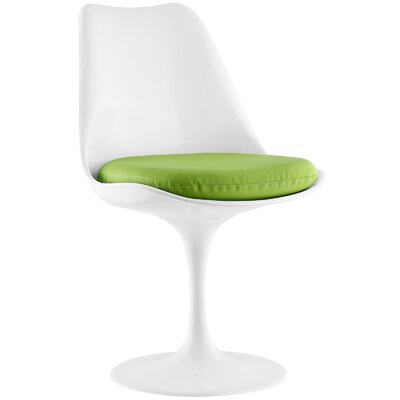 Gracie Side Chair Upholstery: Green