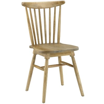 Amble Solid Wood Dining Chair Finish: Natural