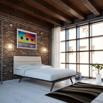 Addison Queen Platform 2 Piece Bedroom Set Finish: Beige