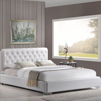 Amelia King Upholstered Platform Bed