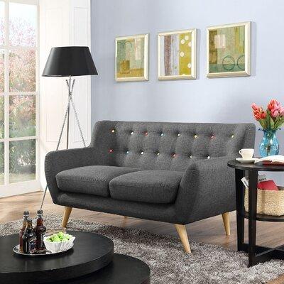Remark Loveseat Upholstery: Grey