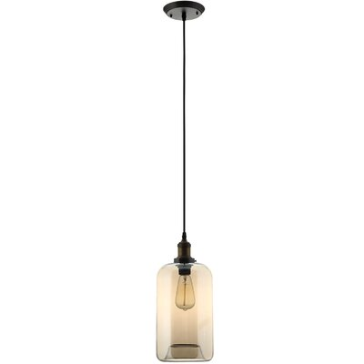 Intrigue 1-Light Mini Pendant