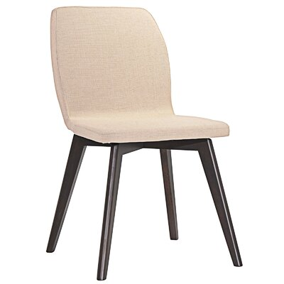 Proclaim Dining Side Chair Upholstery: Walnut Beige