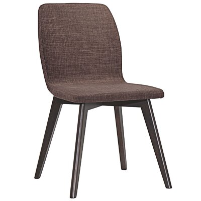 Proclaim Dining Side Chair Upholstery: Walnut Mocha