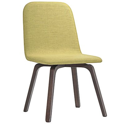 Assert Side Chair Upholstery: Green