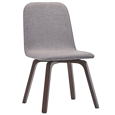 Assert Side Chair Upholstery: Gray