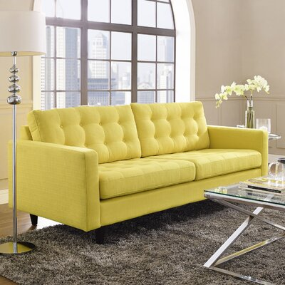 Princess Upholstered Sofa Upholstery: Sunny