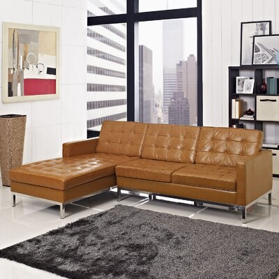 Gayatri Sectional Upholstery: Tan