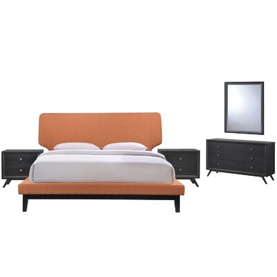Bethany Platform 5 Piece Bedroom Set