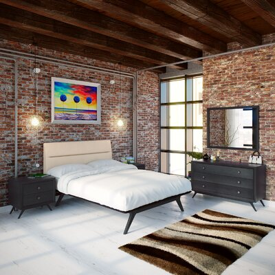Nashua Platform 5 Piece Bedroom Set Finish: Beige