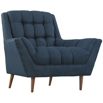 Response Arm Chair Upholstery: Azure