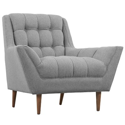 Response Arm Chair Upholstery: Expectation Gray